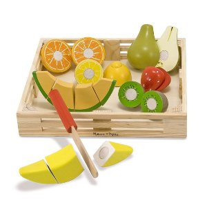Melissa & DougCutting Fruit Set - Wooden Play Food