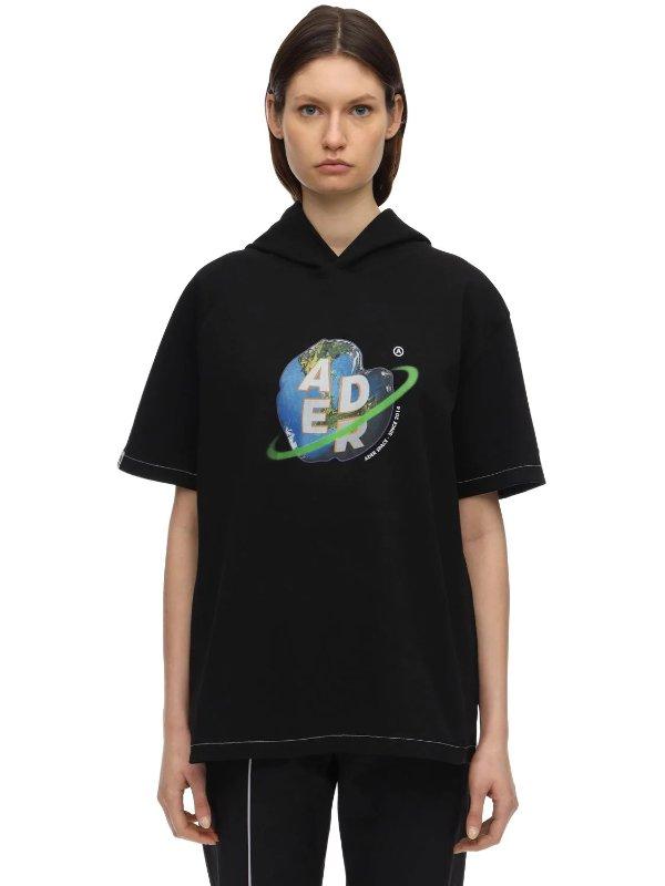 黑色logoT恤