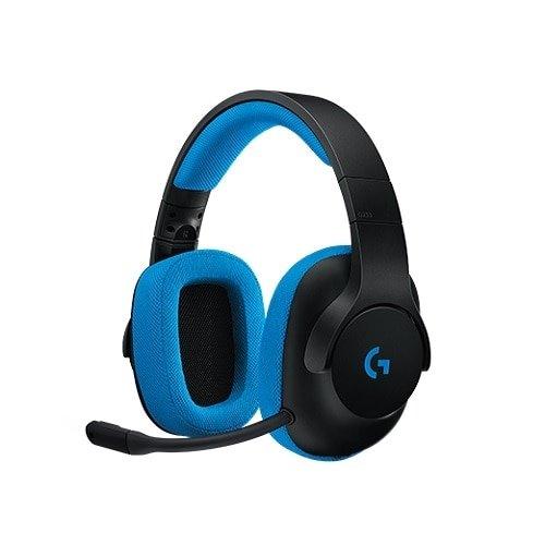 G233 有线头戴式专业游戏耳机