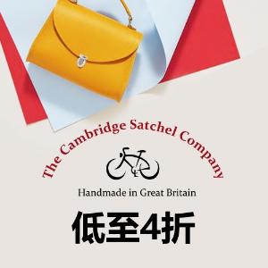 低至4折 Tiny剑桥包£24收The Cambridge Satchel Company官网 剑桥包等季中大促