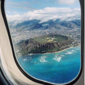 直飞往返$78起夏威夷航空大促 美国多地往返夏威夷机票大促