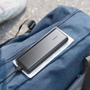 $41.99(原价$53.59)Anker 纤细型 20100mAh充电宝 黑白红三色可选