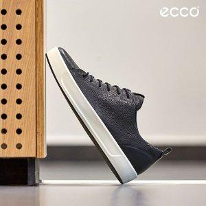 3折起+包邮520礼物:Ecco 爱步男士休闲鞋热卖  $79.99收百搭黑色款
