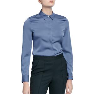 TheoryStretch 丝质衬衫