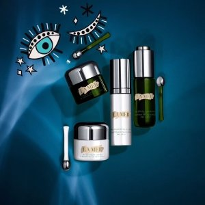 Dealmoon Exclusive Up to $150 OffSelect 4 deluxe samples and a cosmetic pouch with $150+ The Eye Treatments purchase  @ La Mer