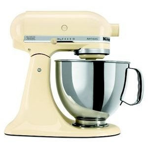 KitchenAidAlmond Cream Refurbished Artisan® Series 5 Quart Tilt-Head Stand Mixer RRK150AC | KitchenAid