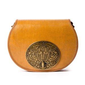 Beara BearaTan Leather Handbag by Beara Beara