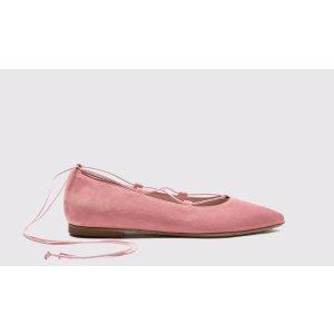 Scarosso绑带芭蕾鞋