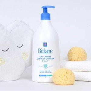 Biolane法亚销冠,6.1折+订阅8折洗头洗澡2合1 超温和沐浴露 750ml