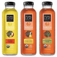 Pure Leaf 茶室精选3口味鲜泡茶饮 414ml 共8瓶