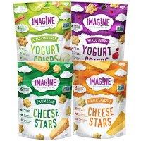 Imag!ne 小星星酥脆饼干 芝士、酸奶口味综合包装 4袋装