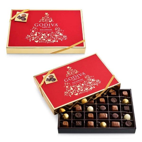 Goldmark 巧克力礼盒 30块 共2盒