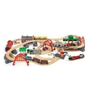 低至$11.78Brio 瑞典高品质儿童木质玩具火车套装、智力迷宫等玩具特卖