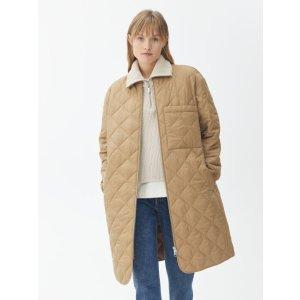 arket绗缝长款夹克