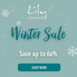 低至4折+额外9.5折 鹿角项链仅£13比黑五低:Lily Charmed 新年大促 收超美雪花、拼图、鹿角、许愿骨