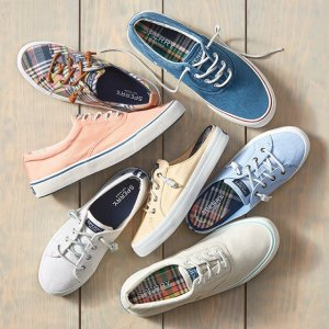 低至5折Sperry 夏日精选凉鞋、休闲鞋热卖
