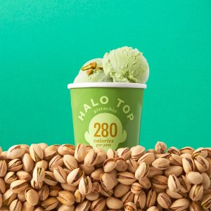 halo topHalo Top Pistachio Ice Cream, 1 pint