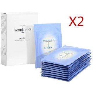 折合¥317/件 + 免邮中国折扣升级:Dermaroller 玻尿酸精华面膜 10片/盒*2盒装