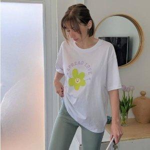 Monki小花T恤