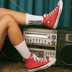 一律$30收+包邮Converse官网 爱心系列帆布鞋促销