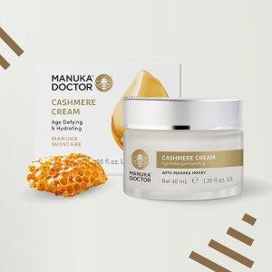 低至6折+额外8.5折独家:Manuka Doctor 麦卢卡蜂蜜护肤热卖 天然温和 滋养皮肤