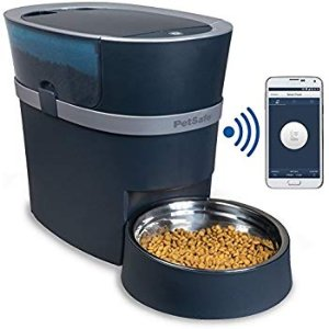 Pet Supplies : PetSafe Smart Feed Automatic Dog and Cat Feeder, Smartphone, 24-Cups, Wi-Fi Enabled App for iPhone and Android, Award Winning Pet Feeder : Amazon.com