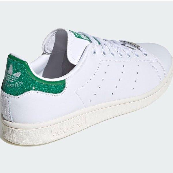 Swarovski x adidas Stan Smith 联名登场 这个绿尾有点闪