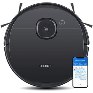 ECOVACSOZMO950 Robotic Vacuum Cleaner, 2-in-1 Vacuuming & Mopping with Smart Navi 3.0 Laser Technology, Custom Cleaning, Multi-Floor Mapping, Virtual Wall, Works on Carpets & Hard Floors