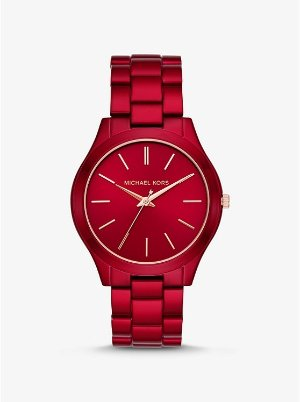 Michael Kors 红色手表