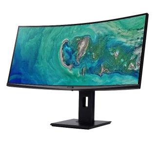 Acer 34吋 1440p 100Hz 4ms FreeSync 曲面电竞显示器