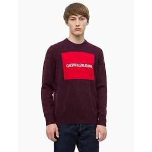 Calvin Kleinlogo block sweater
