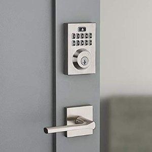 $69.6(原价$139.94)史低价:Weiser SmartCode 10 电子密码锁 出门再也不怕忘带钥匙啦