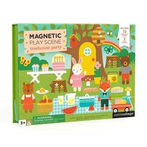 磁力拼图玩具