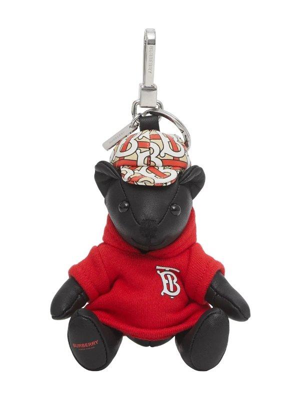 卫衣小熊钥匙扣