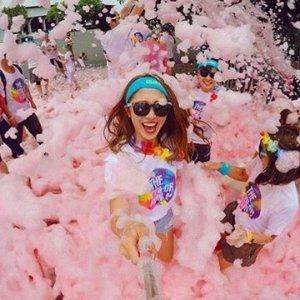 $49(原价$61) 新增泡泡玩法 留言组队撒欢一年一度:The Color Run 墨尔本、悉尼彩虹跑门票