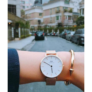 Daniel WellingtonDaniel Wellington Classic Petite Melrose White Dial Watch