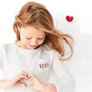 限今日情人节新款降价  喜庆红色过年穿新春独家:Carter's童装官网3.2折起热卖,清仓区低至1.8折