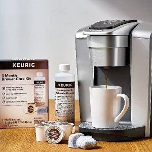 $1.99起 $12.99收除垢剂Keurig 咖啡机小配件专场 让喝咖啡变得更简单 $1.99收奶泡器盖