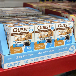 buy one get one 50% offQuest Nutrition product on sales @ VitaminShoppe