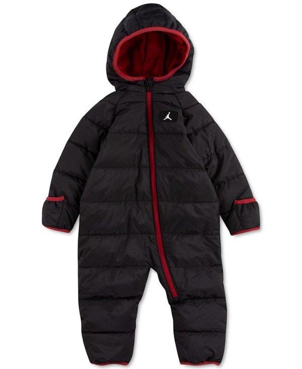 男婴连体滑雪服
