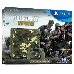 $469 (原价$549.95)PlayStation 4 1TB 使命召唤:二战 限量版 热卖