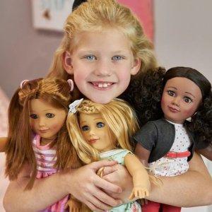 尝鲜订阅只要$10Club Eimmie Doll 娃娃订阅优惠 圆每个小女孩的娃娃梦