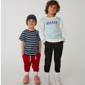 低至5折+满额最高额外8折Acne Studios 童装年中大促 当高冷范儿遇上萌趣小可爱