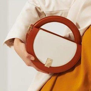 unitude橘色、绿色预售半月手提包