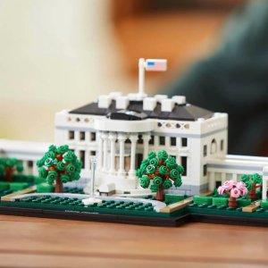 史低价:LEGO 建筑系 白宫 21054