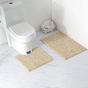 售价€19.99Arkmiido 浴室地垫套装 吸水快干 厚实暖和 浴室必备