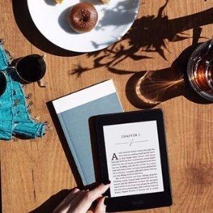 $99.99(原价$139.99)Kindle Paperwhite 6寸墨水屏高分辨率带背光电子阅读器 黑色款