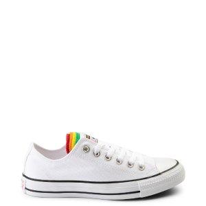 ConverseChuck Taylor All Star Lo Multi Tongue Sneaker - White / Multi