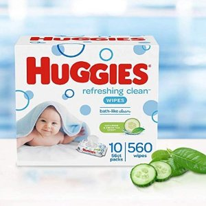 Save $5 when you buy 2 item(s)Pampers & Huggies Baby Wipes Sale
