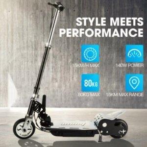 $151 (原价$399)黑五价:BULLET TRZ 电动滑板车